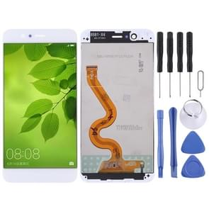 LCD Screen and Digitizer Full Assembly with Frame for Huawei Nova 2 Plus(White)