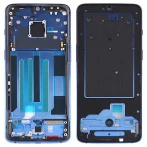 Original Middle Frame Bezel Plate for OnePlus 7 (Blue)