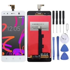 LCD Screen and Digitizer Full Assembly for BQ Aquaris M4.5 (White)