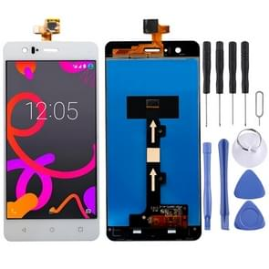 LCD Screen and Digitizer Full Assembly for BQ Aquaris M5 (White)