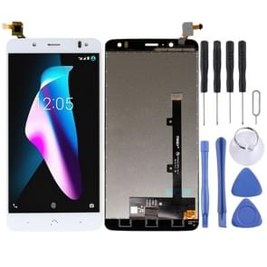 LCD Screen and Digitizer Full Assembly for BQ Aquaris V Plus (White)