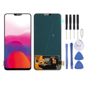 LCD Screen and Digitizer Full Assembly for Vivo X21 In-Display Fingerprint Scanning (Black)