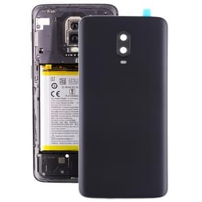 Original Battery Back Cover with Camera Lens for OnePlus 6T(Frosted Black )