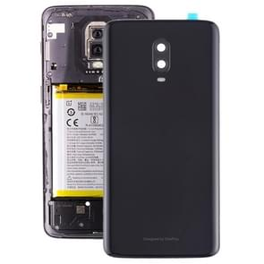 Original Battery Back Cover with Camera Lens for OnePlus 6T(Jet Black)