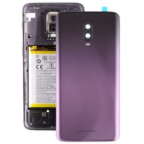 Original Battery Back Cover with Camera Lens for OnePlus 6T(Purple)