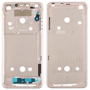 Front Housing LCD Frame Bezel Plate for LG G6 / H870 / H970DS / H872 / LS993 / VS998 / US997 (Gold)