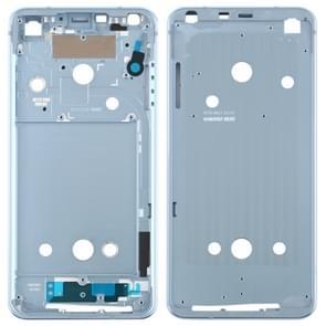 Front behuizing LCD-frame bezel plaat voor LG G6/H870/H970DS/H872/LS993/VS998/US997 (blauw)