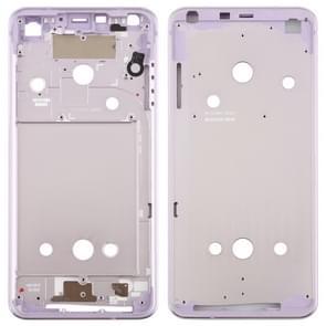 Front Housing LCD Frame Bezel Plate for LG G6 / H870 / H970DS / H872 / LS993 / VS998 / US997 (Purple)