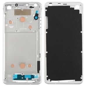 Front Housing LCD Frame Bezel Plate for LG G6 / H870 / H970DS / H872 / LS993 / VS998 / US997 (Silver)