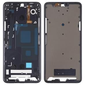 Front Housing LCD Frame Bezel Plate for LG G7 ThinQ / G710 (Black)