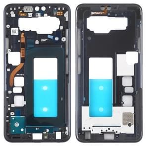 Front Housing LCD Frame Bezel Plate for LG V40 ThinQ (Black)