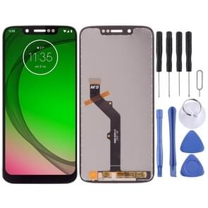 LCD Screen and Digitizer Full Assembly for Motorola Moto G7 Play(Black)