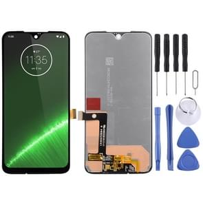 LCD Screen and Digitizer Full Assembly for Motorola Moto G7 Plus(Black)