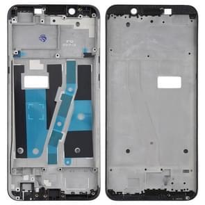 Front Housing LCD Frame Bezel Plate for OPPO A1(Black)