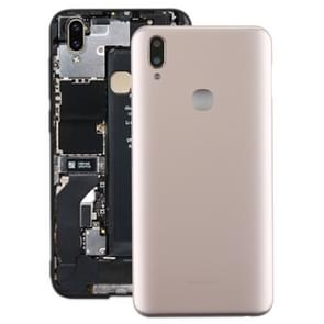 Back Cover with Camera Lens Side Keys for Vivo Y85(Gold)