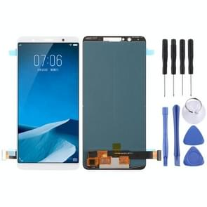 TFT Material LCD Screen and Digitizer Full Assembly for Vivo X20(White)