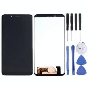 LCD Screen and Digitizer Full Assembly for Leagoo M12(Black)