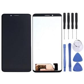 LCD Screen and Digitizer Full Assembly for Leagoo S11(Green)
