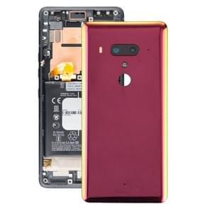 Batterij achtercover met camera lens voor HTC U12 + (rood)