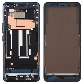 Middelste omlijsting plaat voor HTC U11 + (zwart)