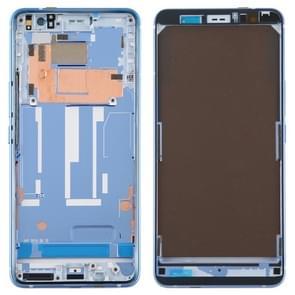 Middelste omlijsting plaat voor HTC U11 + (blauw)
