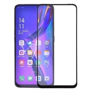 Front Screen Outer Glass Lens for OPPO K3 (Black)