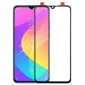 Front Screen Outer Glass Lens for Xiaomi Mi CC9e / Mi A3(Black)