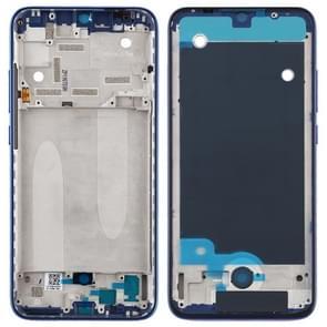 Middelste omlijsting plaat voor Xiaomi mi CC9e/mi a3 (blauw)