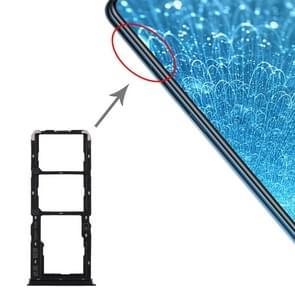 SIM Card Tray + SIM Card Tray + Micro SD Card Tray for Vivo S1 (Black)
