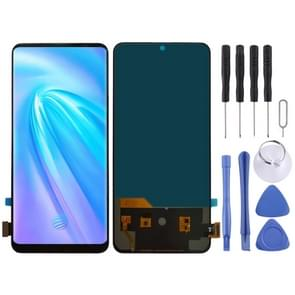 TFT Material LCD Screen and Digitizer Full Assembly for Vivo NEX A(Black)