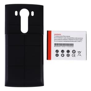 RUNDAS BL-45B1F 6800mAh Replacement Mobile Phone Battery & Cover Back Door for LG V10(Black)