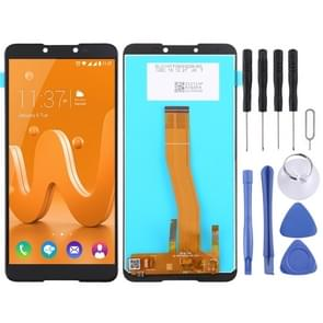 LCD Screen and Digitizer Full Assembly for Wiko JERRY4 (Black)