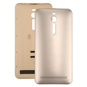 iPartsBuy for Asus Zenfone 2 / ZE551ML Original Brushed Texture Back Battery Cover(Gold)