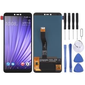 LCD-scherm en digitizer volledige assemblage voor HTC U19e (Zwart)