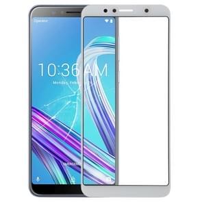Buitenglaslens voor het scherm aan de voorzijde voor Asus Zenfone Max Pro (M1) ZB601KL / ZB602KL X00TD (Wit)