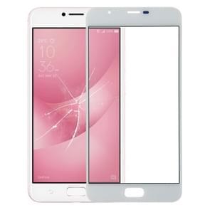 Buitenglaslens voor het scherm aan de voorzijde voor Asus ZenFone 4 Max Plus ZC550TL X015D (Wit)