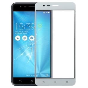 Buitenglaslens voor het scherm voor asus Zenfone 3 Zoom ZE553KL / Z01HD (Wit)