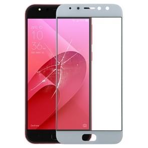 Voorkant scherm buitenste glazen lens voor ASUS ZenFone 4 Selfie Pro ZD552KL/Z01MD/Z01MDA (wit)