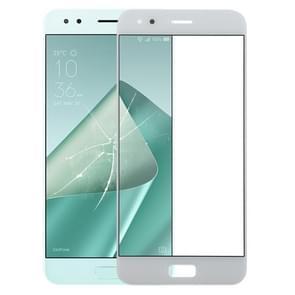 Buitenglaslens voor het scherm aan de voorzijde voor Asus ZenFone 4 ZE554KL / Z01KD(Wit)