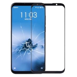 Front Screen Outer Glass Lens for Meizu 16 Plus (Black)