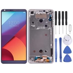 LCD Screen and Digitizer Full Assembly with Frame for LG G6 / H870 / H870DS / H872 / LS993 / VS998 / US997(Purple)