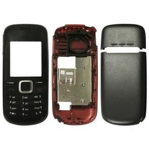 Full housing Cover (Front Cover + middelste Frame Bezel batterij Back Cover + toetsenbord) voor Nokia 1661