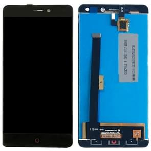 ZTE Nubia N1 / NX541J LCD-scherm en Digitizer Full Assembly(Black)