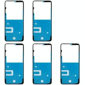 5 Set Back Housing Cover Adhesive Sticker Set for Huawei Honor 8X