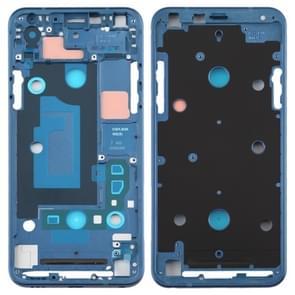 Front Housing LCD Frame Bezel Plate for LG Q7 / Q610 / Q7 Plus / Q725 / Q720 / Q7A / Q7 Alpha (Dark Blue)