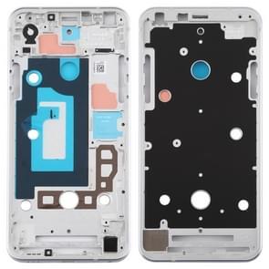 Front Housing LCD Frame Bezel Plate for LG Q7 / Q610 / Q7 Plus / Q725 / Q720 / Q7A / Q7 Alpha (Silver)