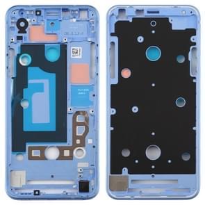 Front Housing LCD Frame Bezel Plate for LG Q7 / Q610 / Q7 Plus / Q725 / Q720 / Q7A / Q7 Alpha (Baby Blue)