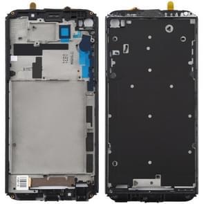 Front Housing LCD Frame Bezel Plate for LG V20 Mini (Black)