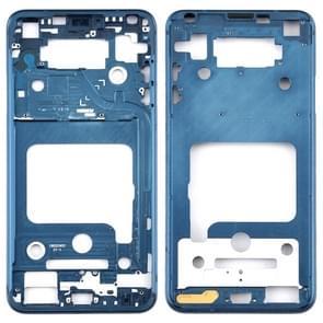 Front Housing LCD Frame Bezel Plate for LG V35 ThinQ (Blue)