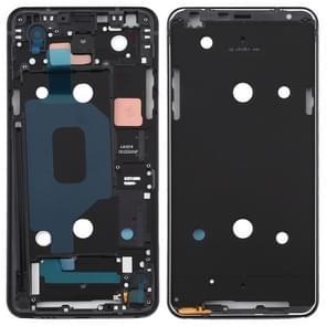 Front Housing LCD Frame Bezel Plate for LG Q Stylo 4 Q710 Q710MS Q710CS (Black)